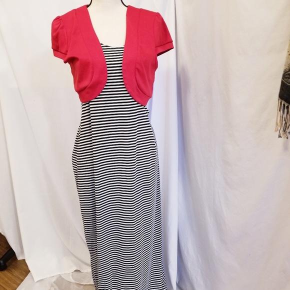 3a7f595b11b NWT Just Love Women s Maxi Summer Dress Large